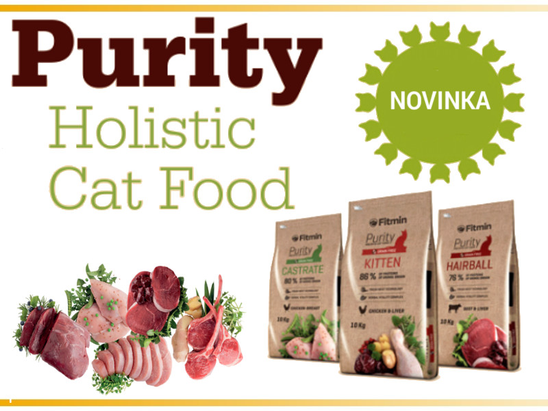 Purity Holistic Cat Food line