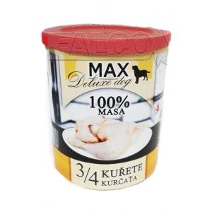 Max 3/4 kuřete - 800 g