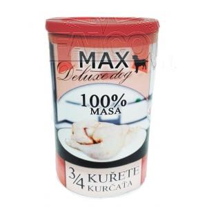 Max 3/4 kuřete - 1200 g