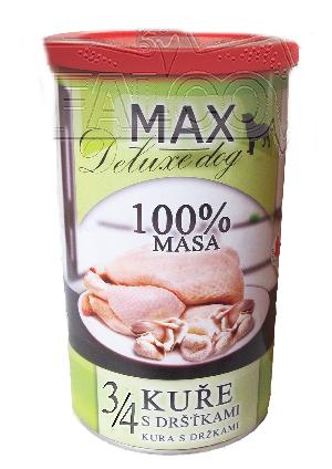 Max 3/4 kuřete s dršťkami - 1200 g