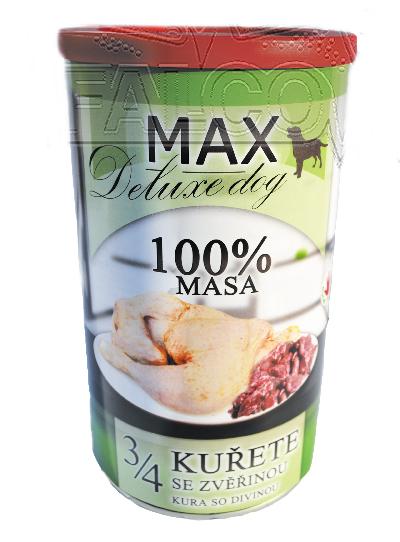 Max 3/4 kuřete se zvěřinou - 1200 g