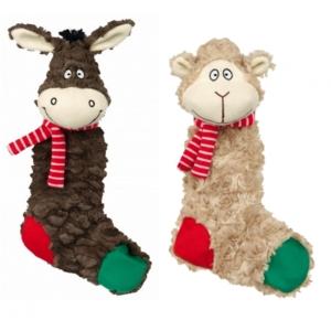 Vánoční osel / ovečka - plyš