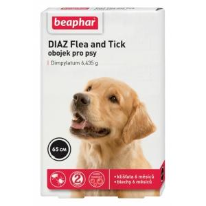 Beaphar Diaz - antiparazitní obojek pro psy - 65 cm