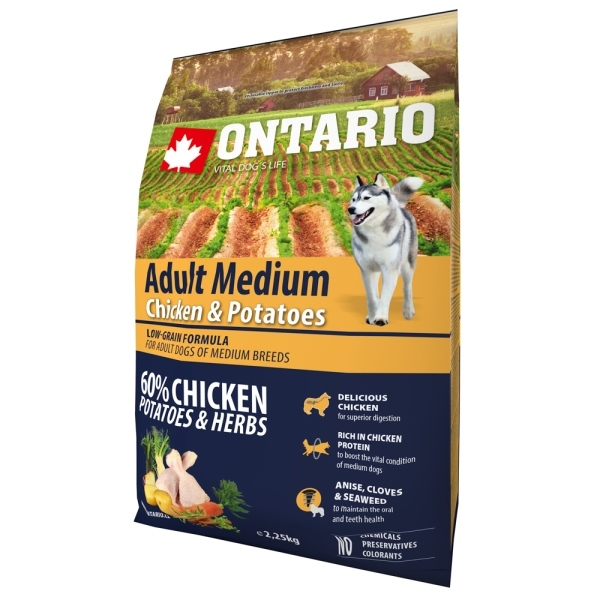 Ontario Adult Medium Chicken&Potatoes