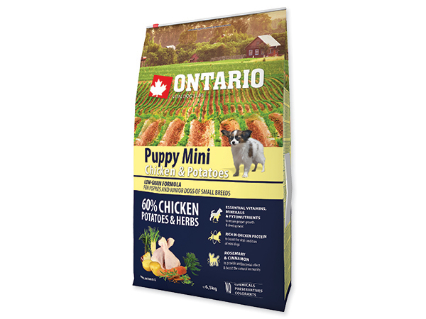 Ontario Puppy Mini Chicken&Rice