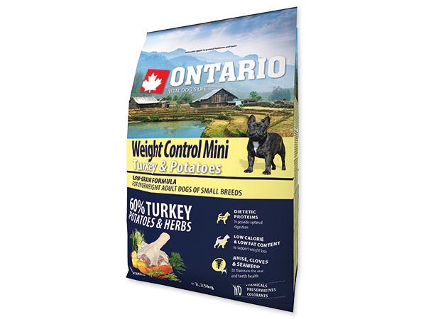 Ontario Mini Weight Control Turkey&Potatoes
