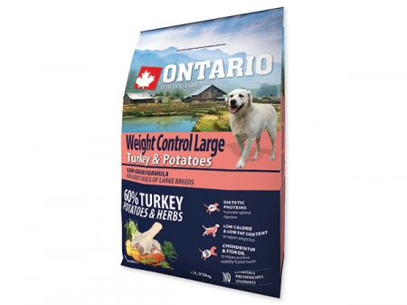 Ontario Large Weight Control Turkey&Potatoes