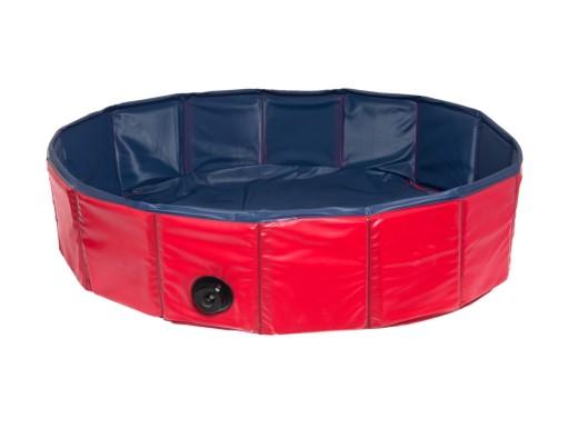 Bazén pro psy Karlie - červeno/modrý