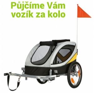 Vozík za kolo - k zapůjčení