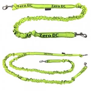 Vodítko s tlumičem pro psy do 10-kg - neon zelené